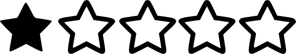 Image result for one star rating