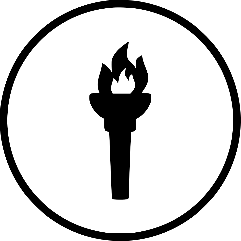 Game Fire Flame Olympic Torch Light Svg Png Icon Free Download