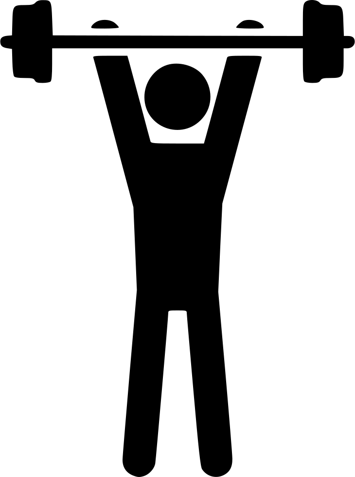 Nastic Dumbbell Strength Weight Man Svg Png Icon Free ...