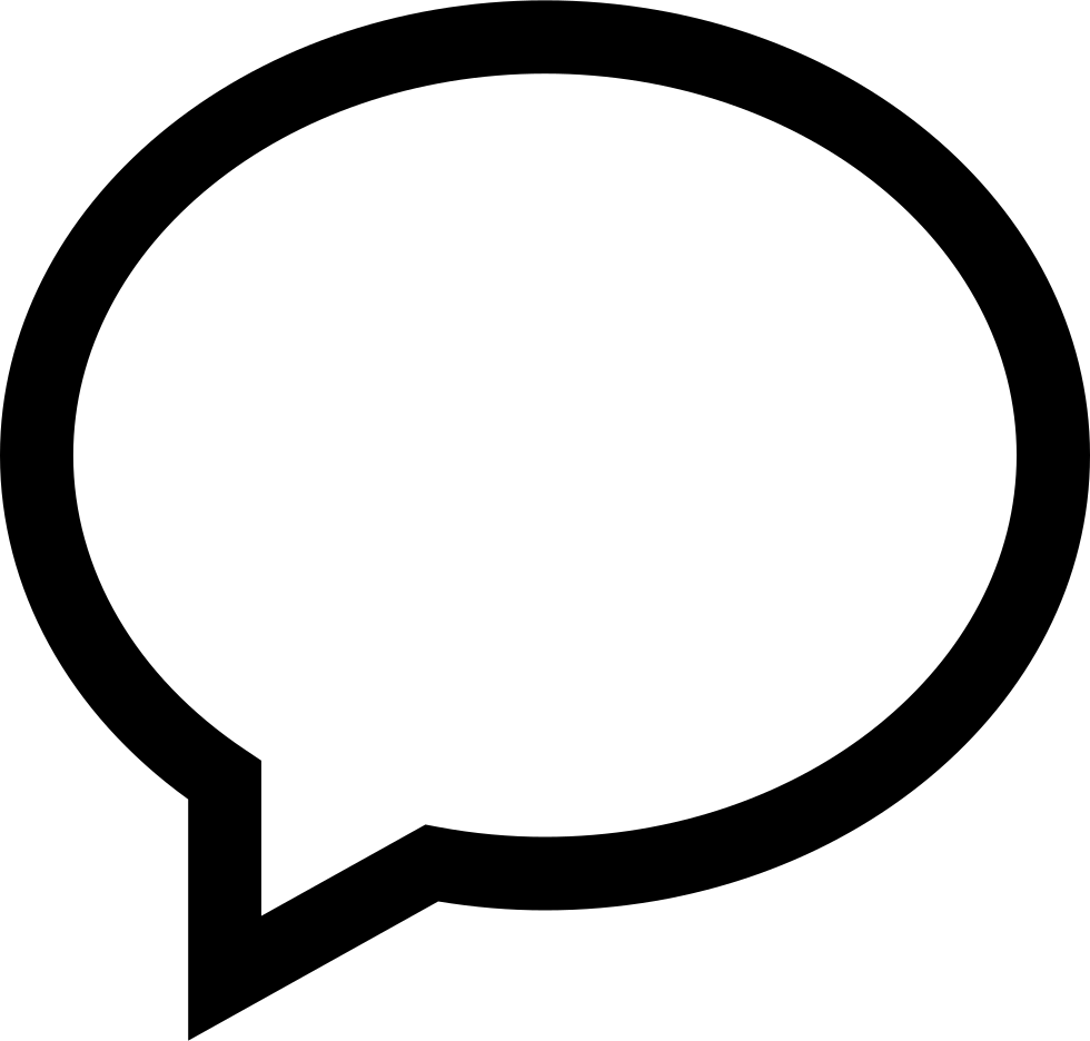 Speech Bubble Message Svg Png Icon Free Download (#53145 ...