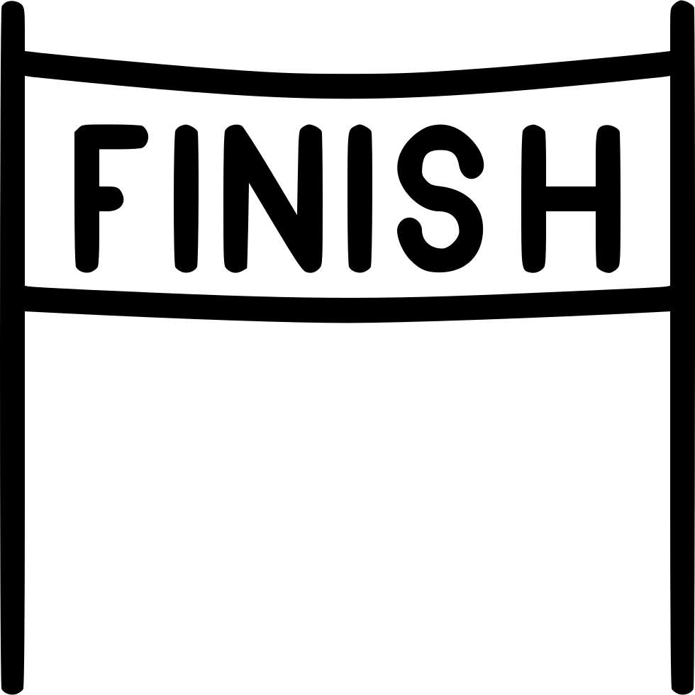finish line race svg png icon free download 531940