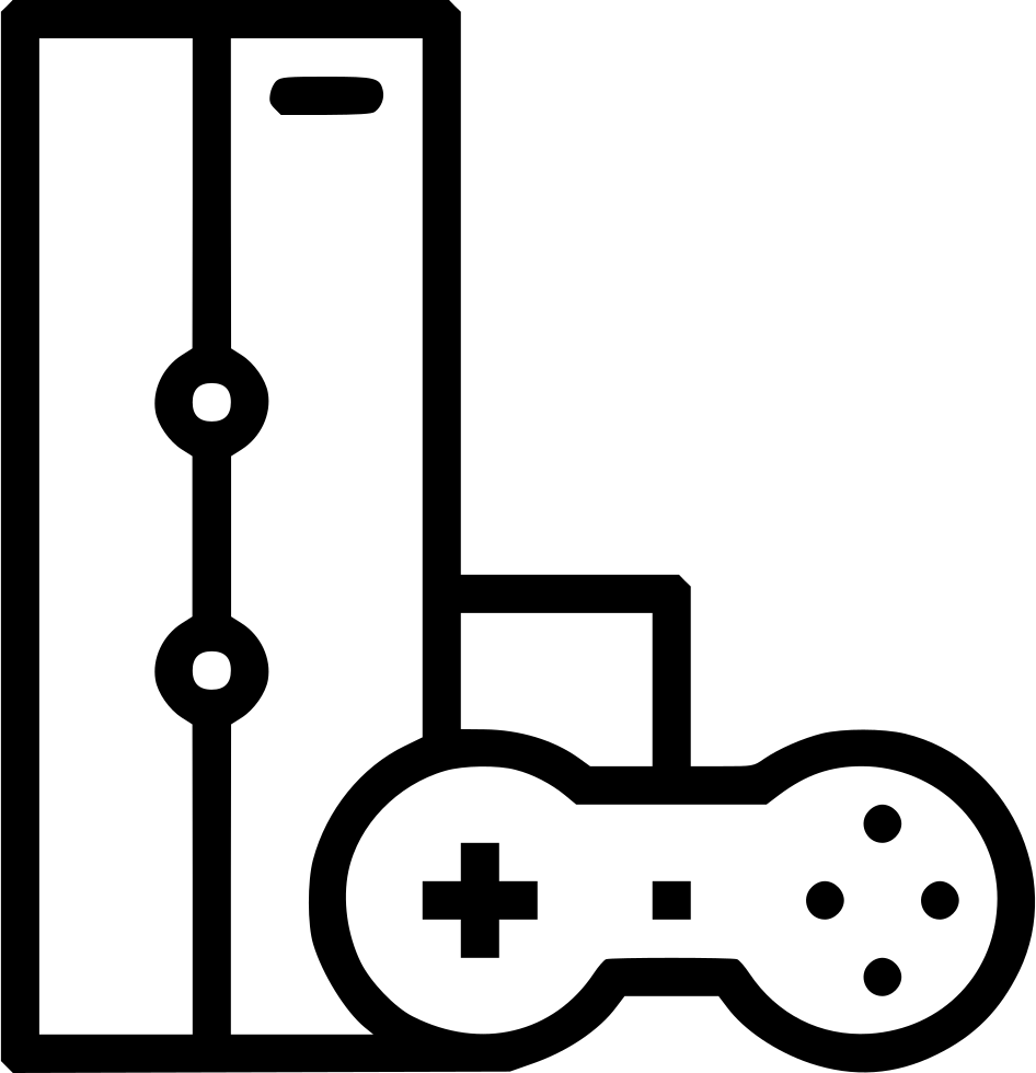 R Pad Controller Joystick Console Gaming Svg Png Icon Free