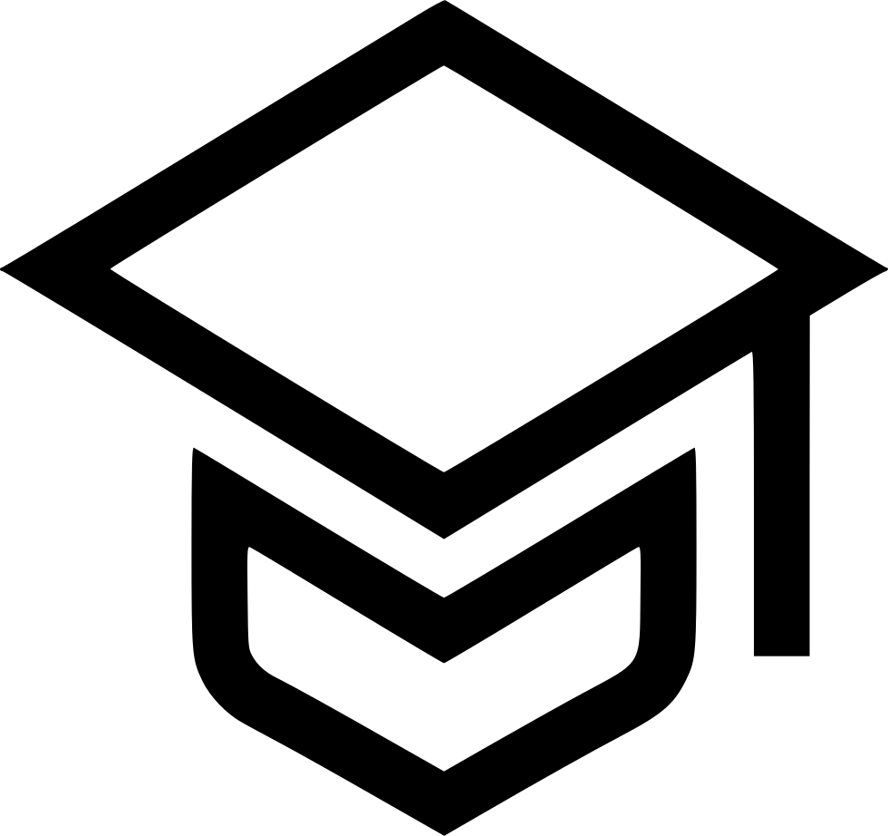 Graduation Cap Learning Learn School College Svg Png Icon
