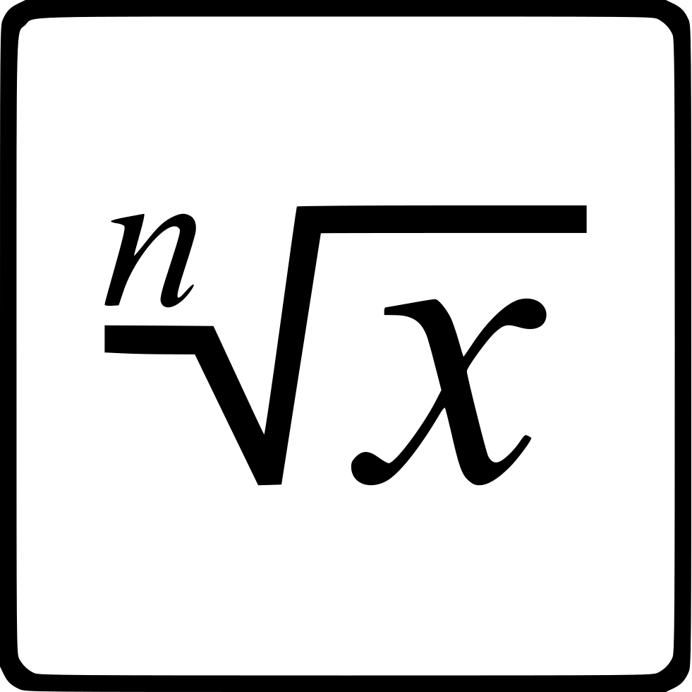 Function Root X Power N Svg Png Icon Free Download (#533923 ...