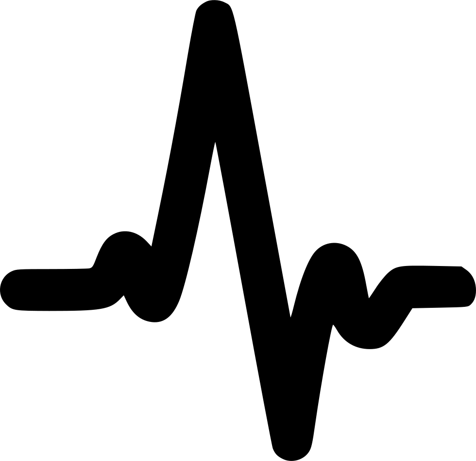 Heartbeat Png Transparent Black: Heartbeat Svg Png Icon Free Download (#534448