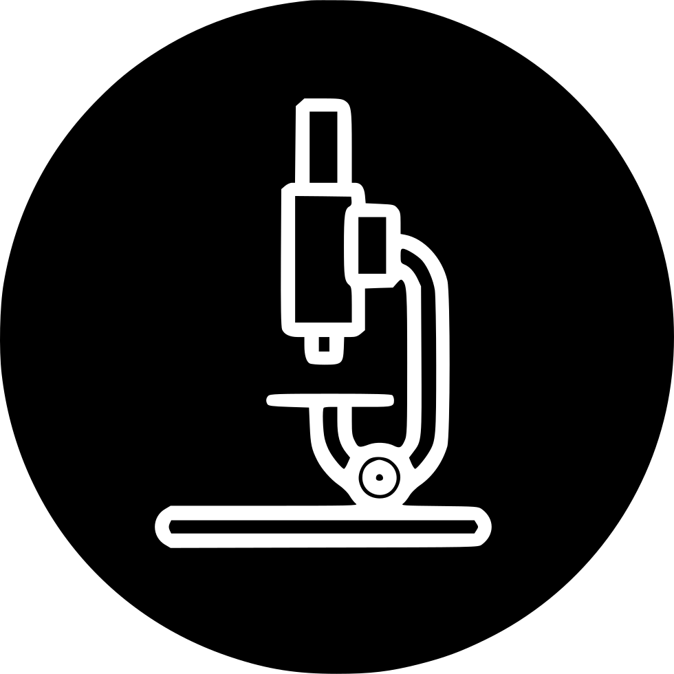 Science Research Study Lab Microscope Device Tool Svg Png