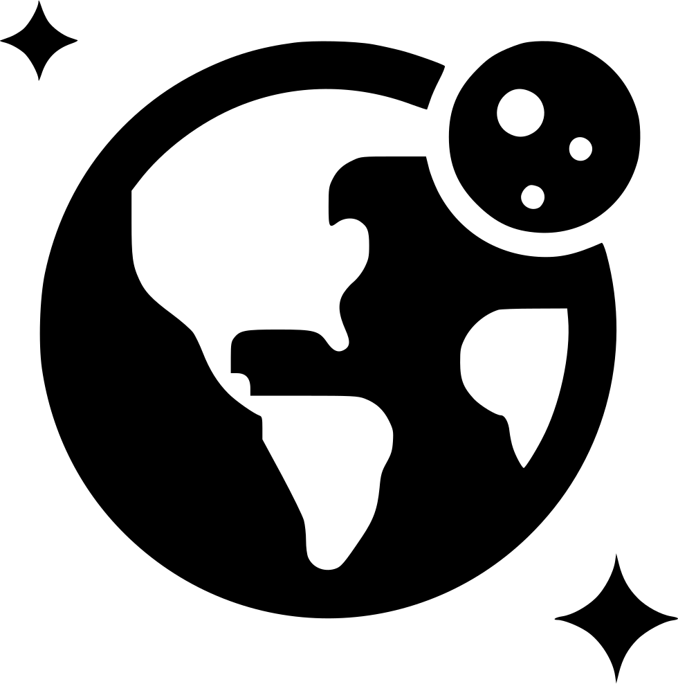 Earth Moon Orbit Svg Png Icon Free Download (#535073