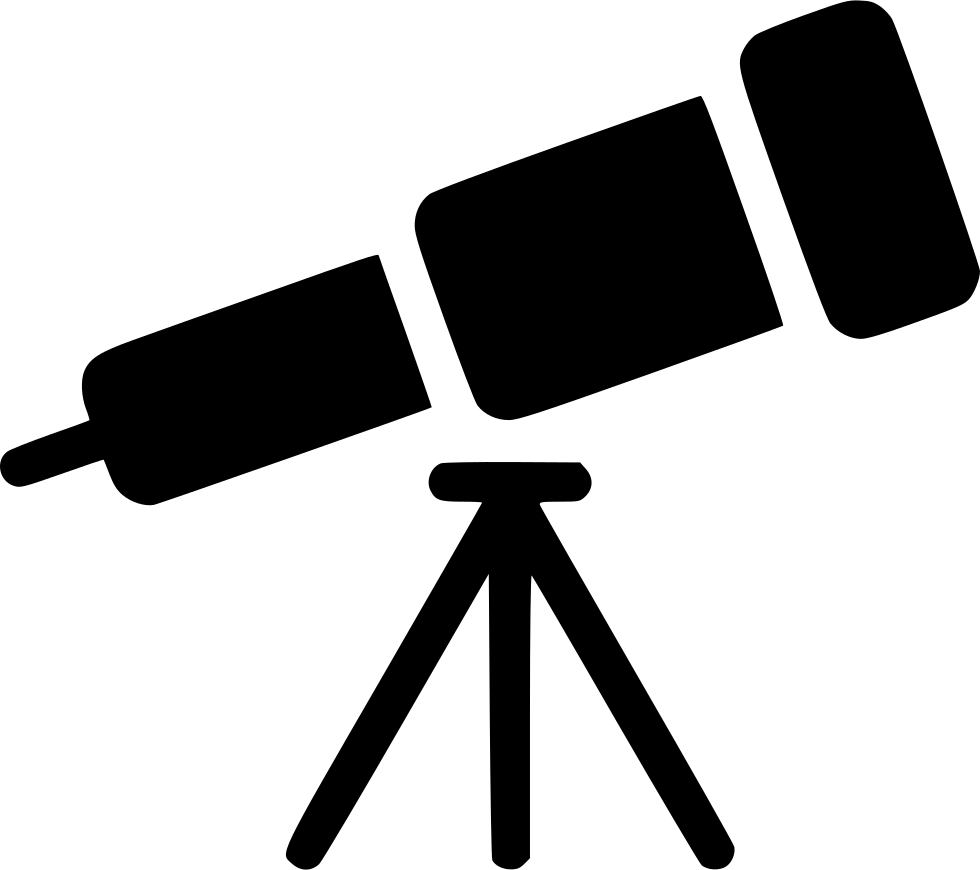 telescope svg png icon free download 535437 onlinewebfonts com online web fonts