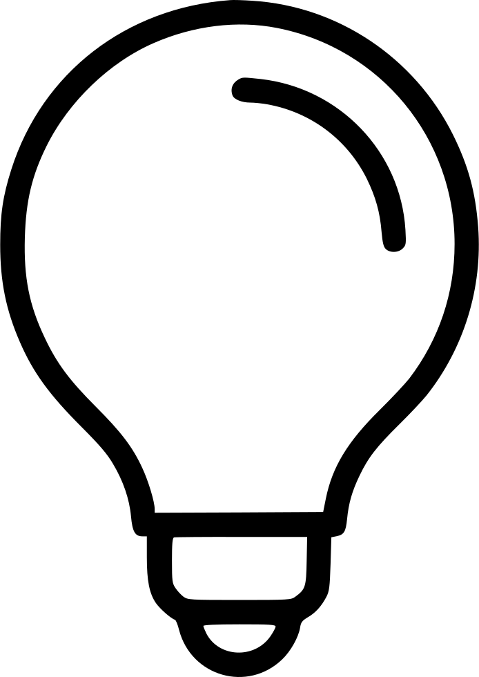 Bulb Svg Icon Free Download 535657
