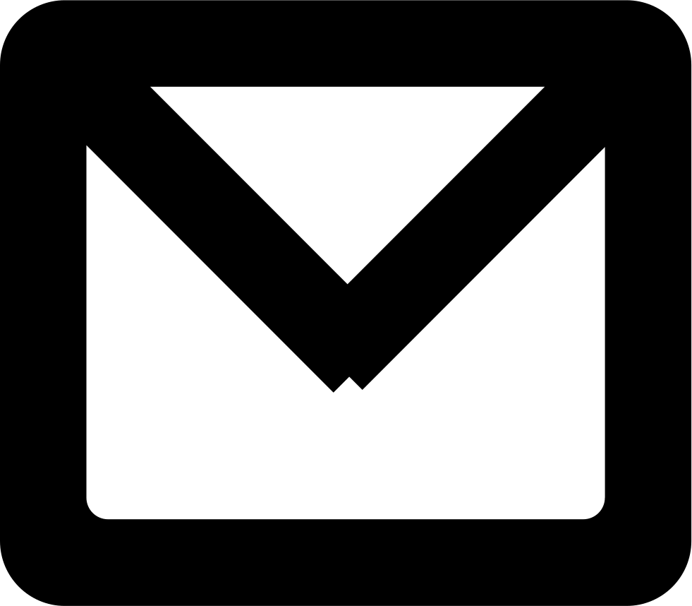 New Email Gross Envelope Outlined Symbol Svg Png Icon Free Download