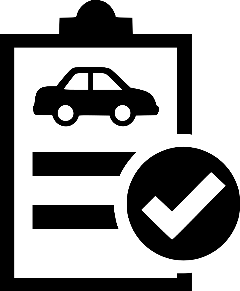 Auto Good Image: Test Car Inspection Technical Review Approved Svg Png Icon