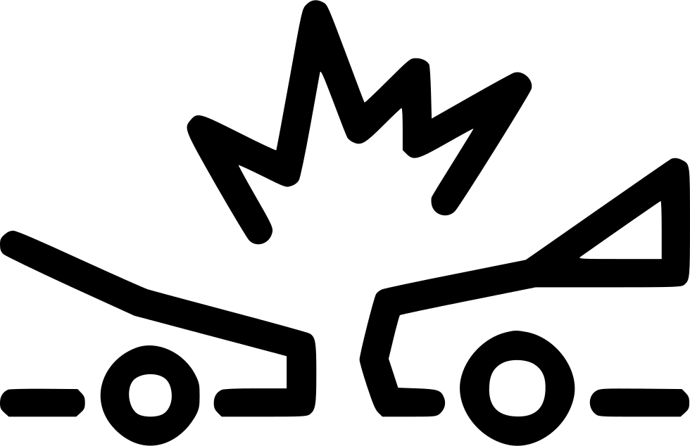 Accident Car Crash Collision Insurance Svg Png Icon Free ...