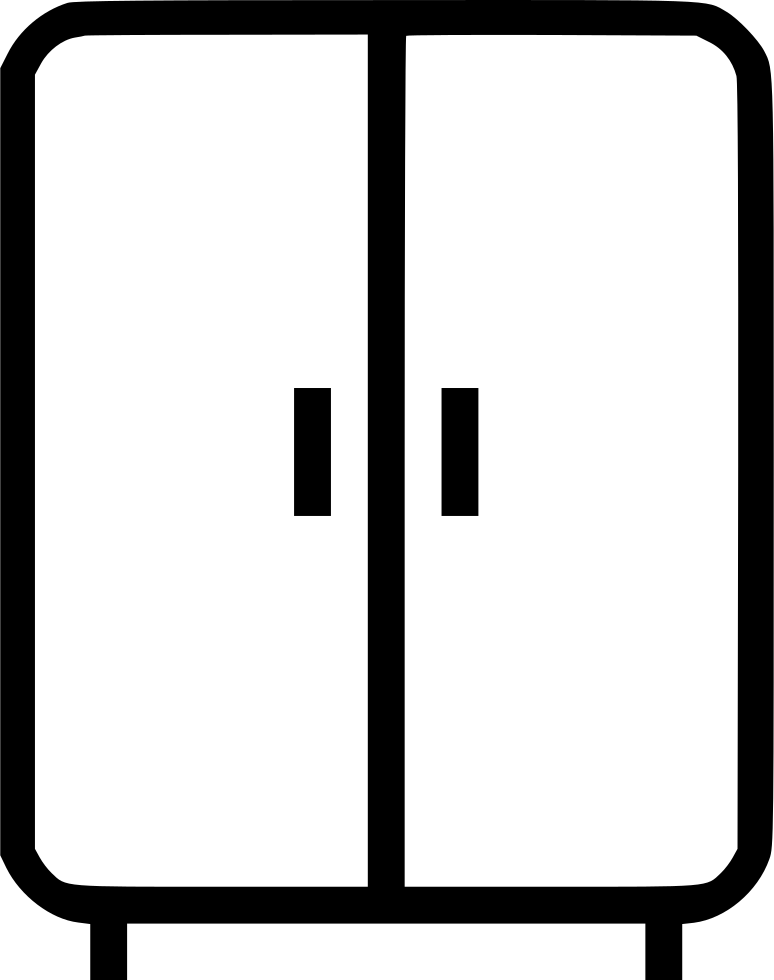 Closet Cabinet Clothes Furniture Home Svg Png Icon Free