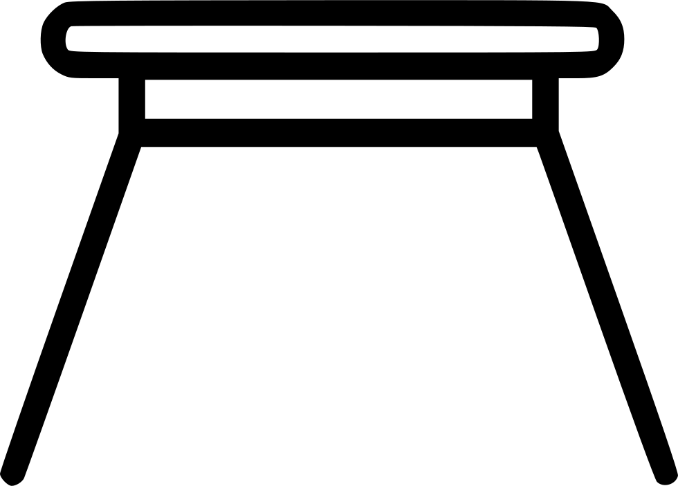 Table Sideview Small Furniture Home Svg Png Icon Free Download