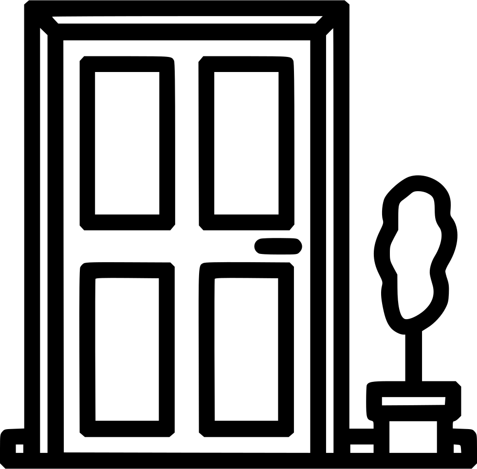 front door svg png icon free download   539156