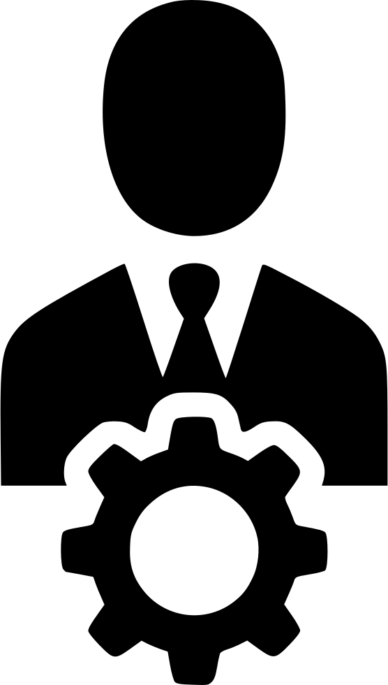 man gear cog avatar user manager svg png icon free