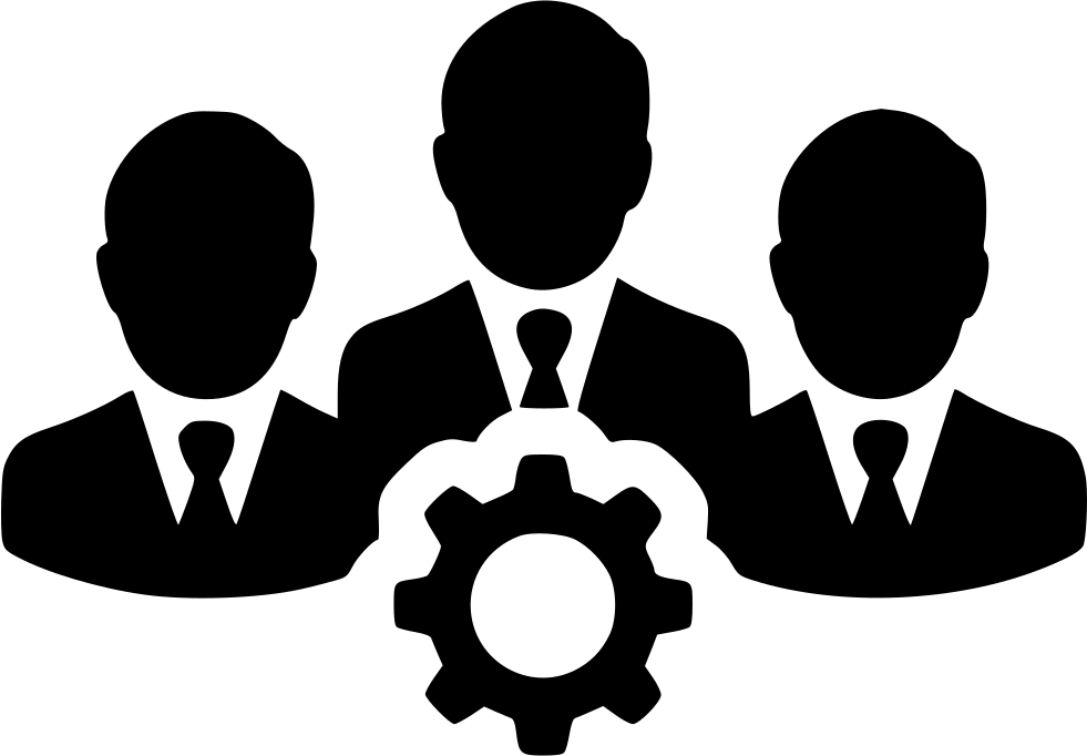 Teamwork People Users Gear Team Group Svg Png Icon Free ...