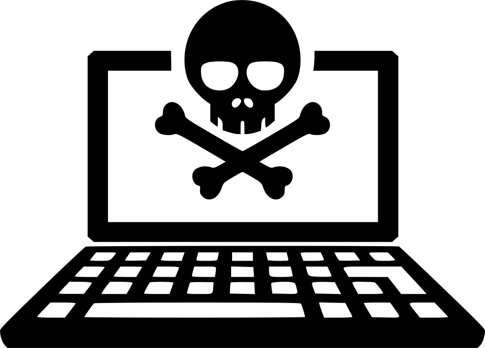 Hacked Laptop Pc Hacker Svg Png Icon Free Download