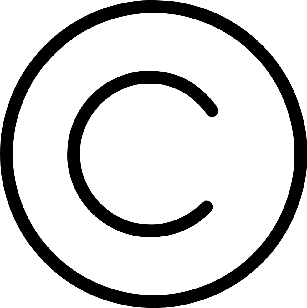 copyright svg png icon free download 545095