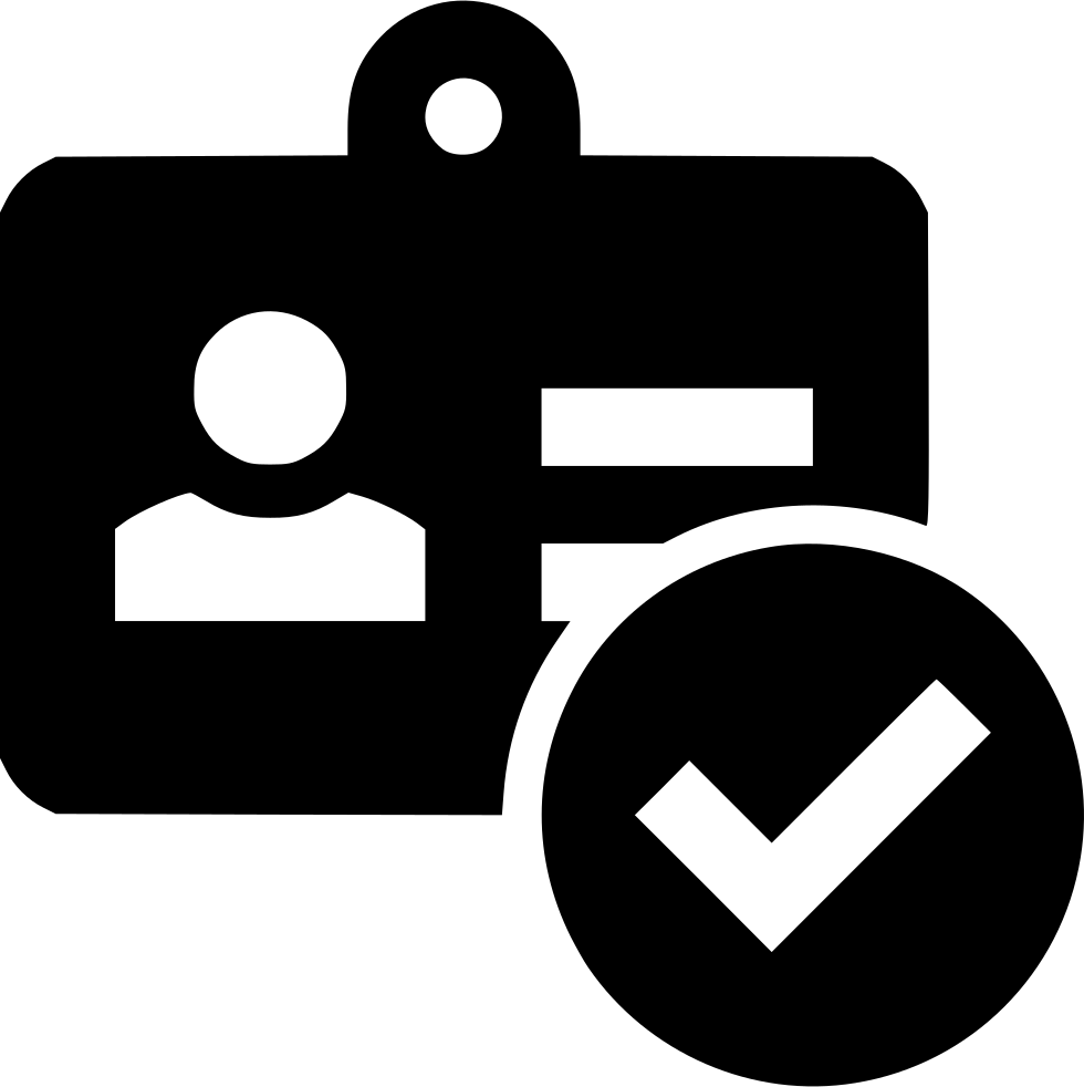 Marketing Identity Verification Svg Png Icon Free Download