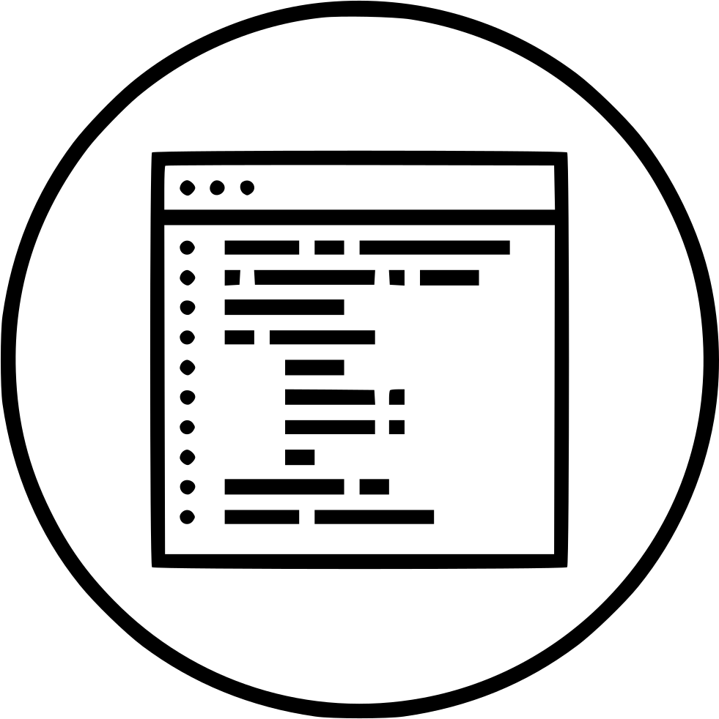 Website Webpage Coding Code Optimization Portal Seo Svg Png