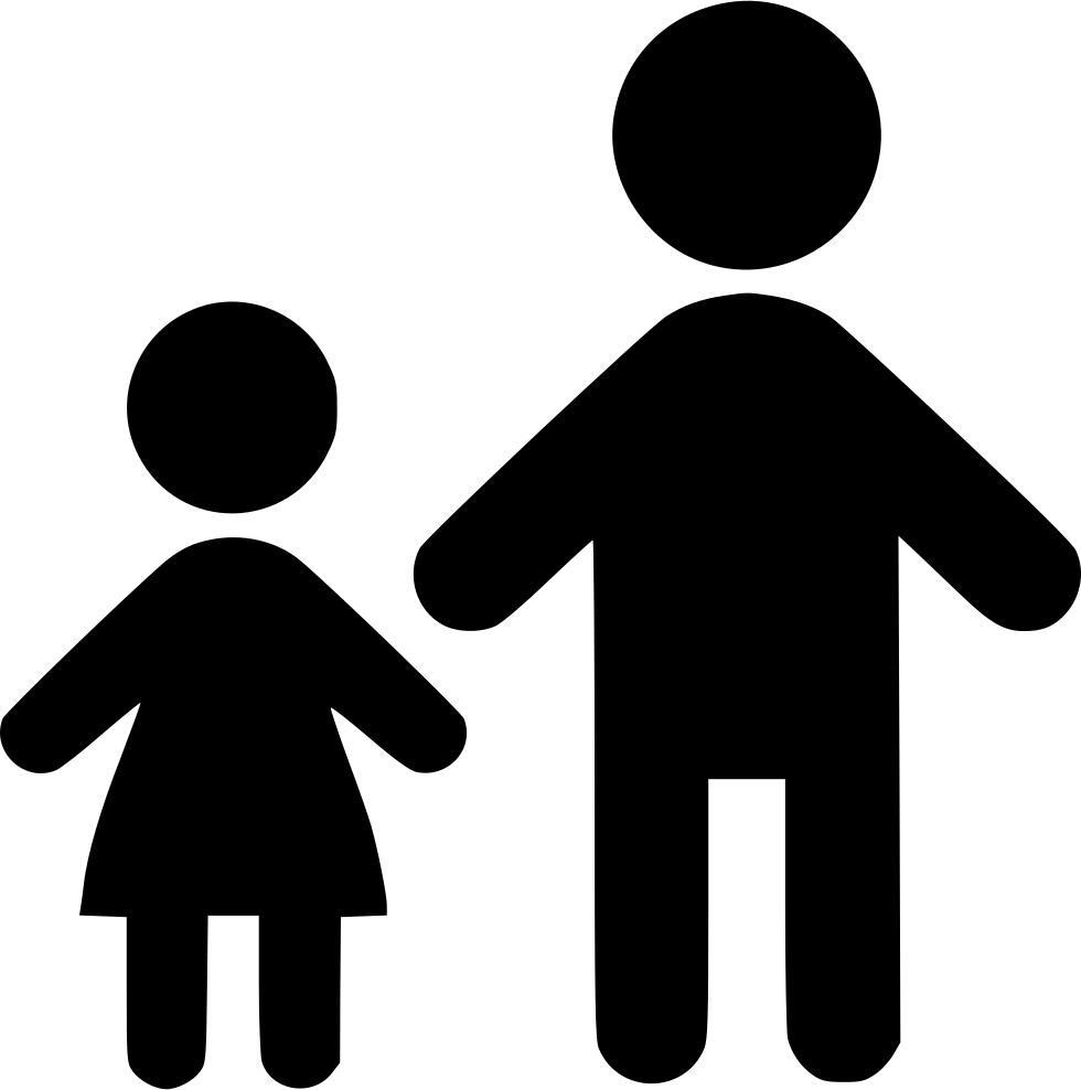 Standing With Child Svg Png Icon Free Download (#546547