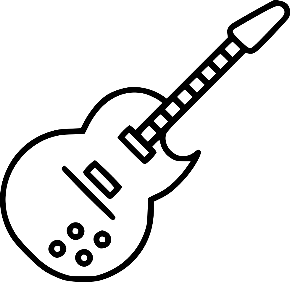 electric guitar svg png icon free download   546934