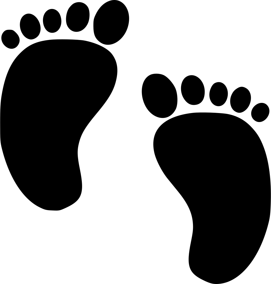 Baby Feet Svg Png Icon Free Download (#547768 ...
