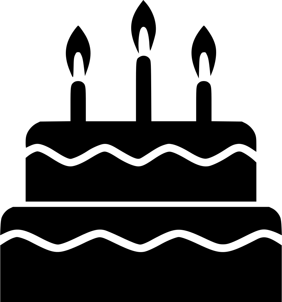 Cake Party Tier Candle Svg Png Icon Free Download 548700