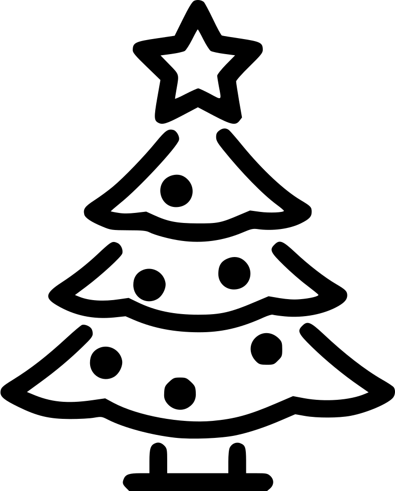 Christmas Tree Svg Free Download.Christmas Tree Svg Png Icon Free Download 550407