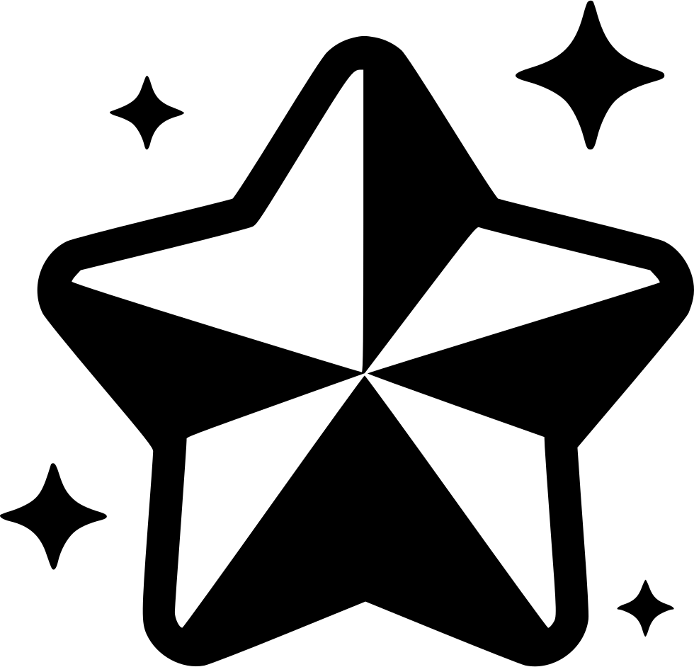 xmas star decoration wink blink svg png icon free download 550544