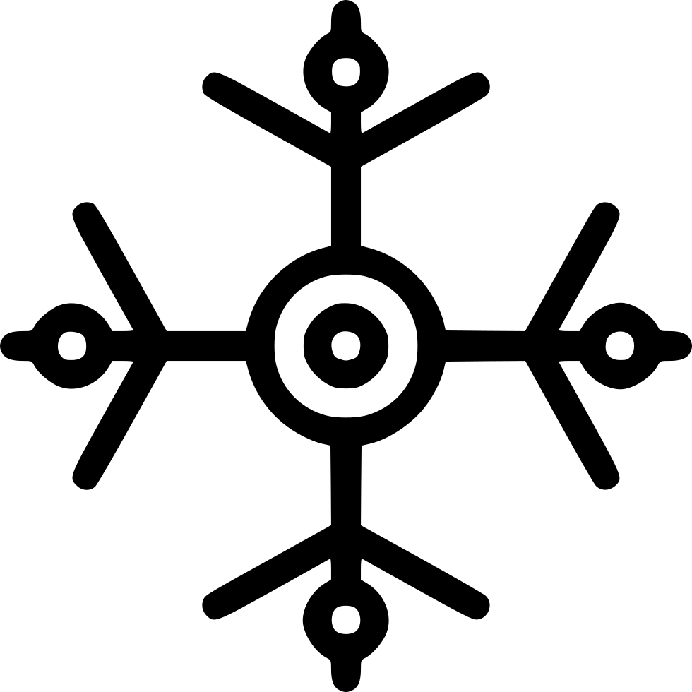 Snow Snowflake Winter New Year Decoration Svg Png Icon Free Download