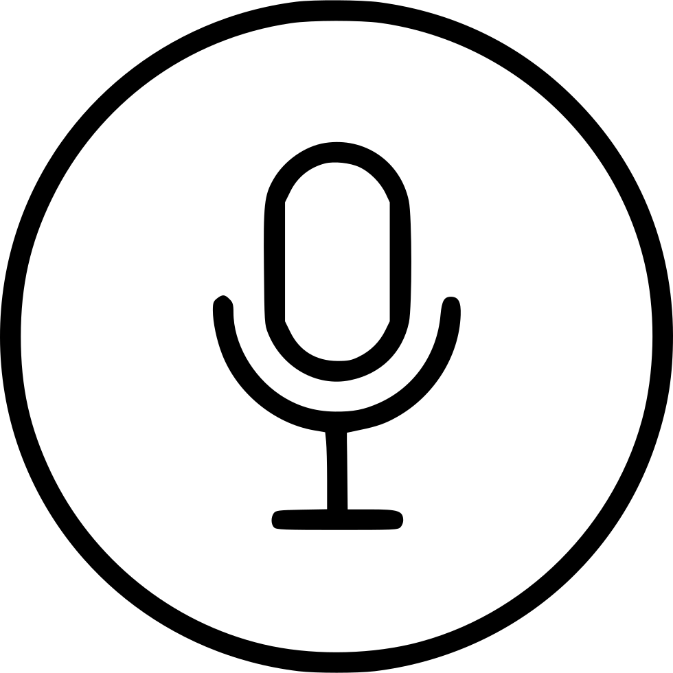 Mic Voice Microphone Control Sound Record Svg Png Icon Free