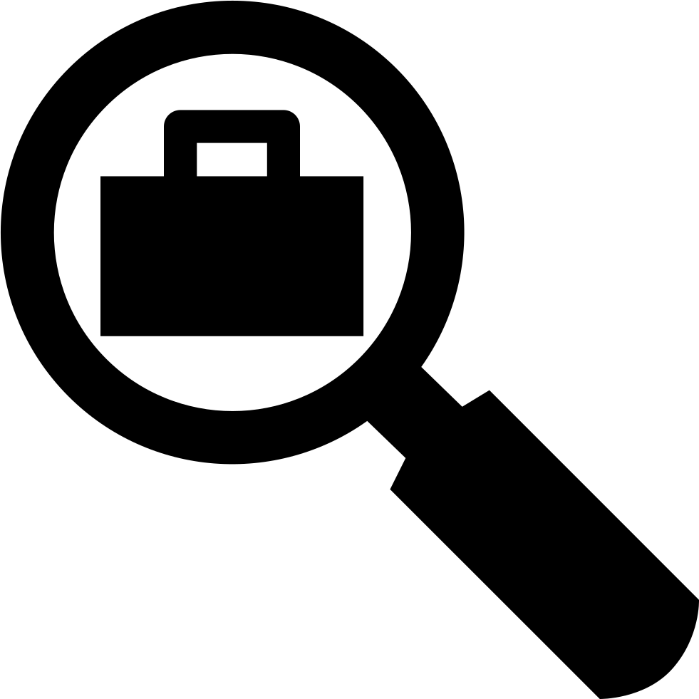 job search svg png icon free download   5522