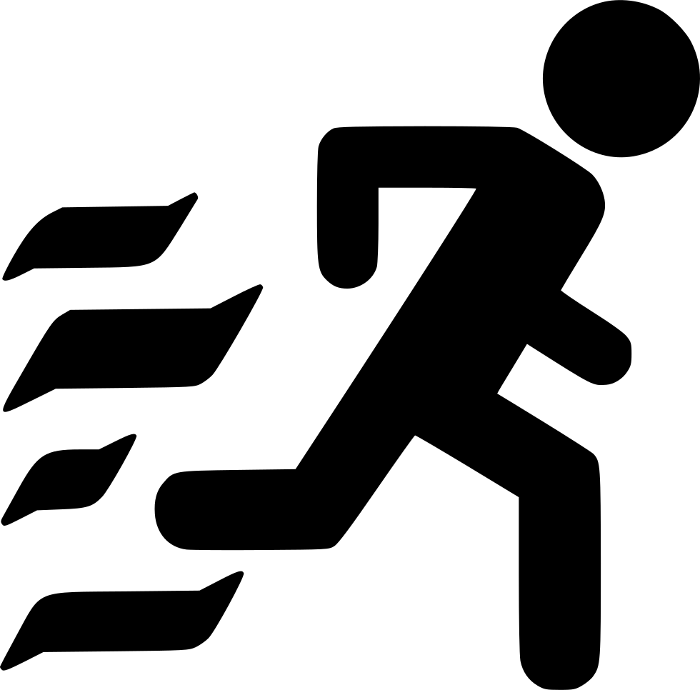 run evacuation svg png icon free download 553705