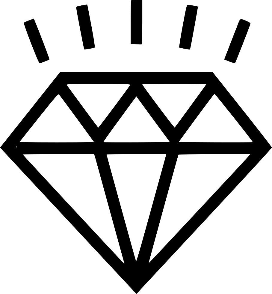 diamond svg png icon free download   553771