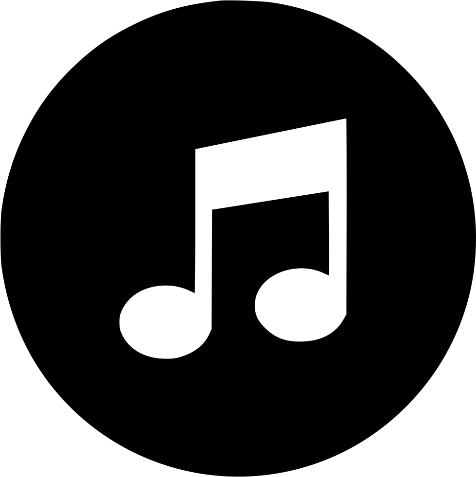 music player note svg png icon free download 554076 onlinewebfonts com online web fonts