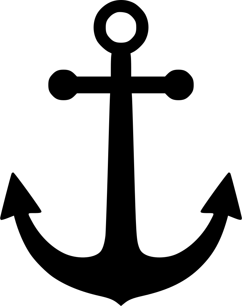 anchor svg png icon free download 554096