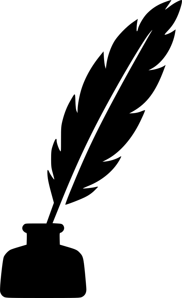 feather ink pen svg png icon free download 554115