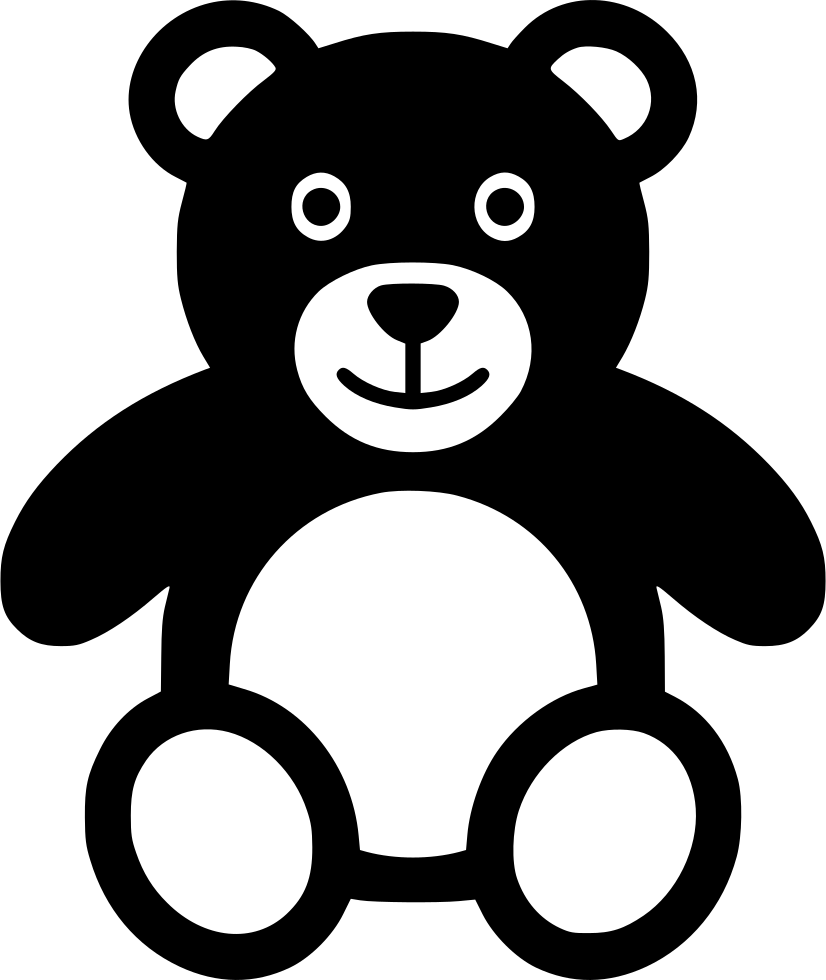 Teddy Bear Svg Png Icon Free Download 554154 Onlinewebfonts Com