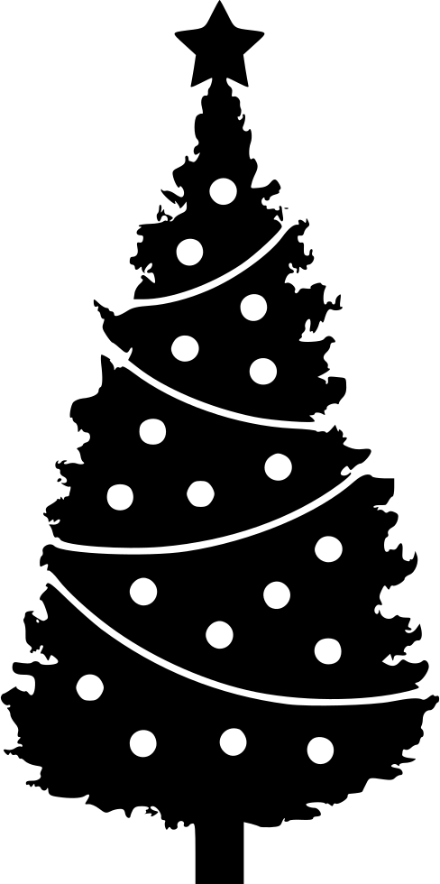 Christmas Tree Svg Free Download.Christmas Tree Svg Png Icon Free Download 557186