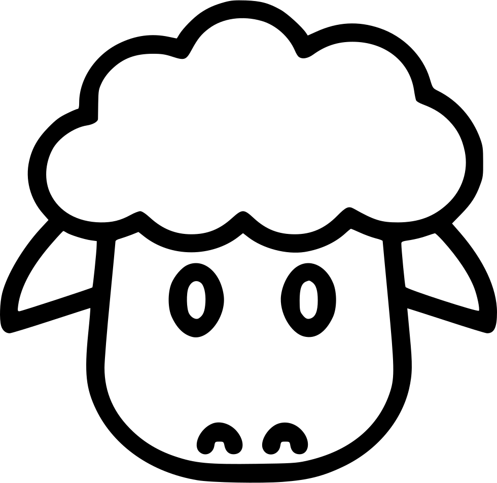 Sheep Face Avatar Animal Svg Png Icon Free Download ...