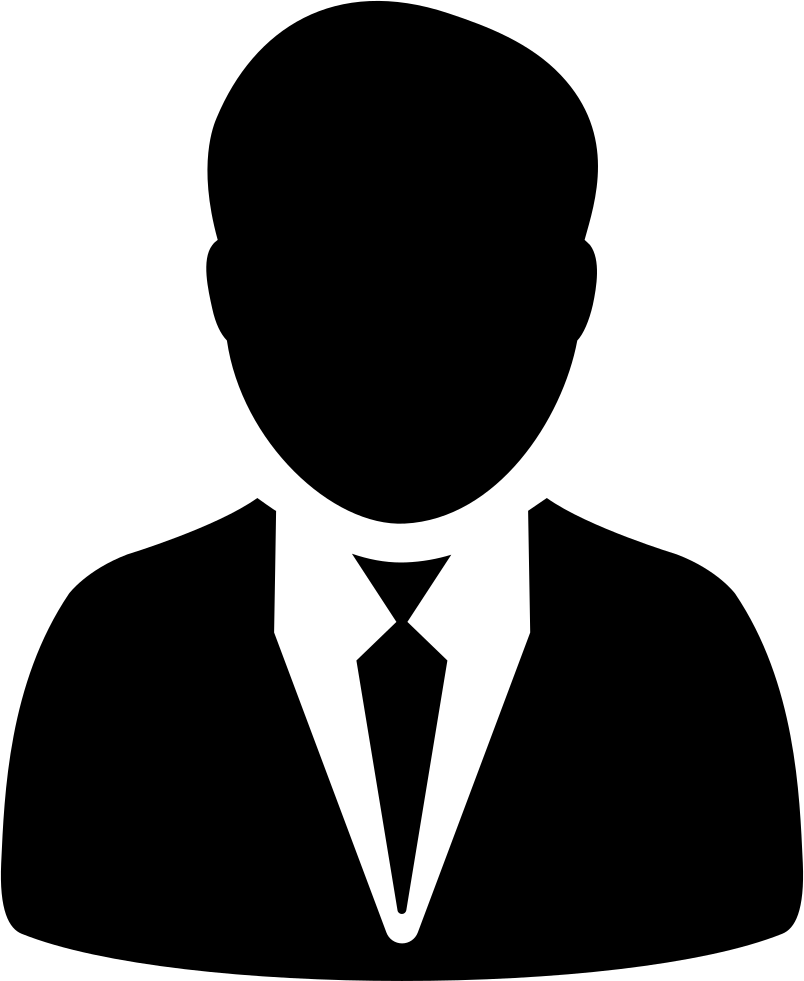 Man In Suit And Tie Svg Png Icon Free Download (#5573 ...