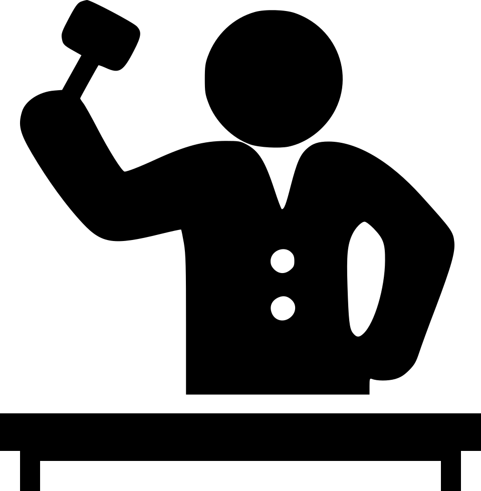 Judge Giving Order Svg Png Icon Free Download 558857