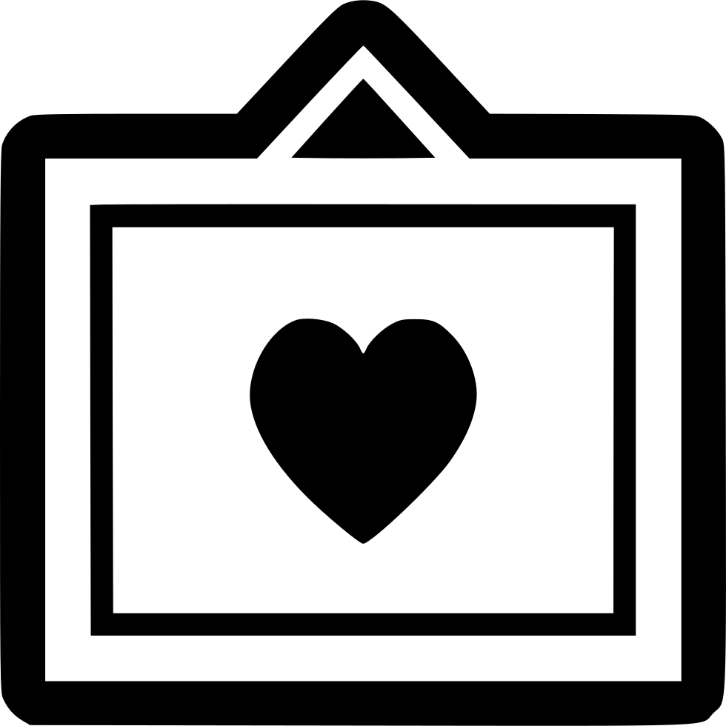 Frame Heart Svg Png Icon Free Download (#559174) - OnlineWebFonts.COM