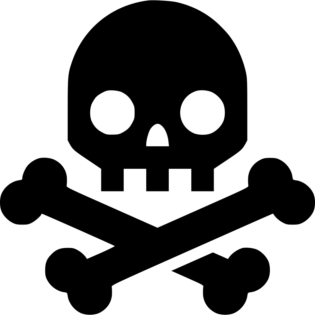 Skull And Bones Svg Png Icon Free Download 561477 Onlinewebfonts Com