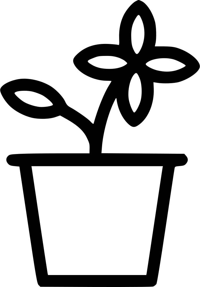 Flower Pot Svg Png Icon Free Download (#563021