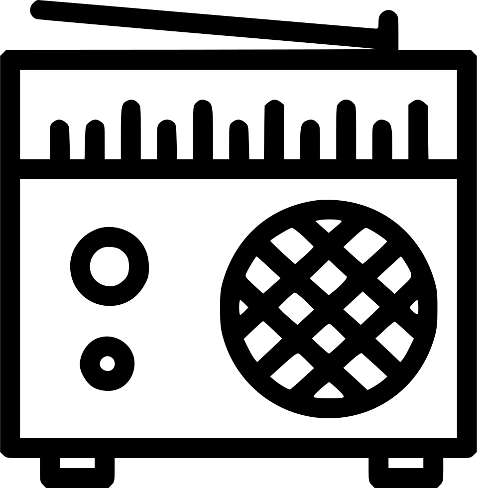 Old Radio Svg Png Icon Free Download (#563037