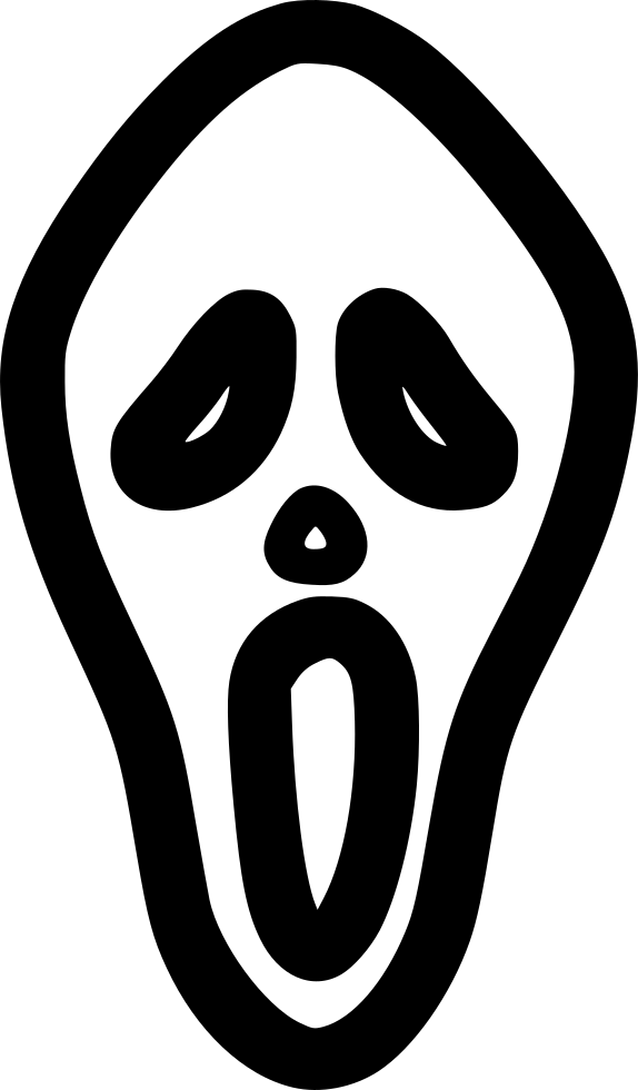 Horror Mask Svg Png Icon Free Download (#565544