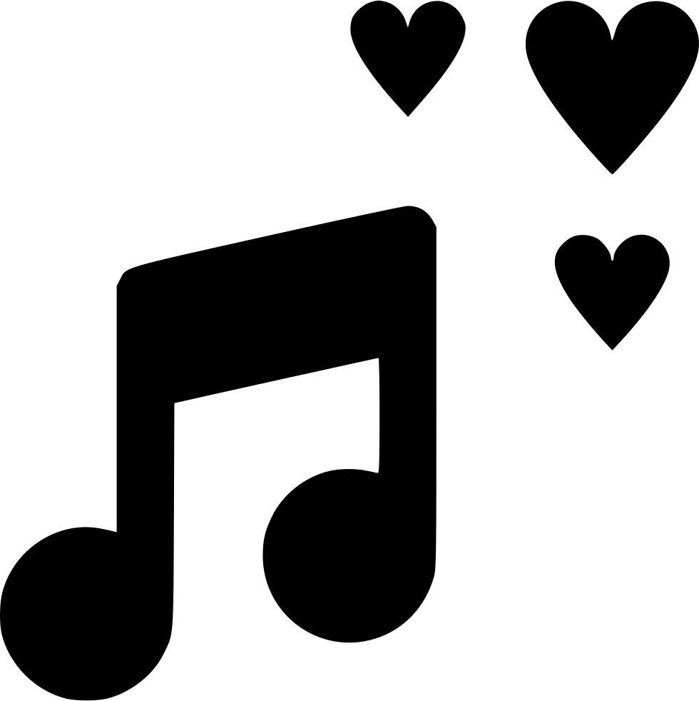 Love Music Svg Png Icon Free Download (#566167 ...